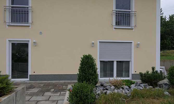 Terrassenüberdachung Trend Paket VSG Milchglas