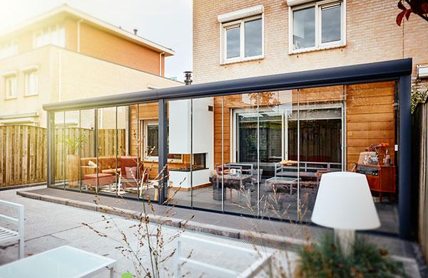Gartenzimmer von den experten von o p profi - Bausatz wintergarten zur selbstmontage ...