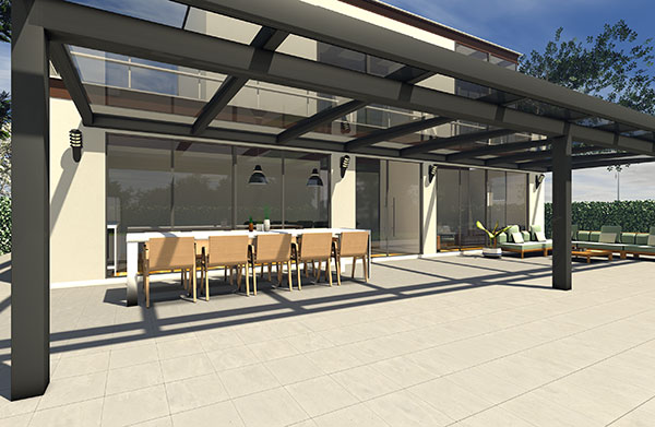 Terrassendach Lux Life