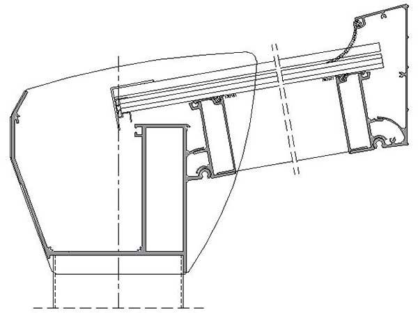 Terrassendach Top Paket Polycarbonat
