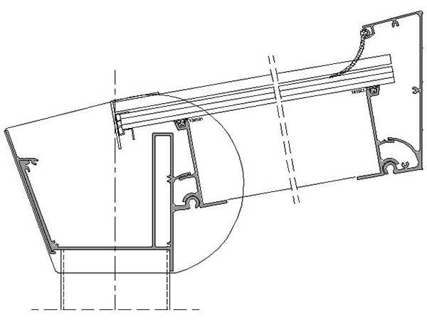 Terrassendach Trend Paket Polycarbonat