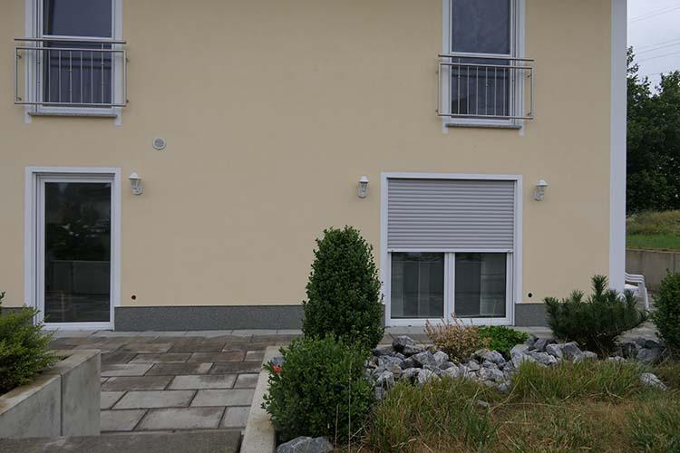 Terrassenüberdachung Trend-Paket mit VSG Milchglas